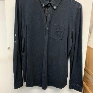 Calvin Klein shirt medium charcoal grey .
